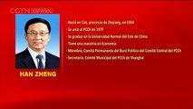 El perfil de Han Zheng, miembro del Comité Permanente del Buró Político del Comité Central del PCCh