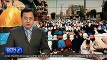 Los jordanos protestan contra las restricciones israelíes en la mezquita