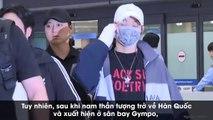 Fan Việt phát hoảng khi thấy Kang Daniel trở về Hàn Quốc với 1 tay băng bó sau khi đến Việt Nam