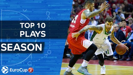 7DAYS EuroCup, Top 10 Plays of the Season