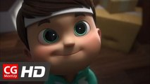 "CGI Animated Short HD ""Quest for Glory Euro Cup 2016"" by Ember Lab 