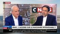 L'ambassadeur d'Iran en France refuse de serrer la main à Clélie Mathias, présentatrice de la matinale de CNews où il est invité