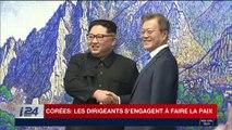 Corées: les dirigeants s'engagent à faire la paix
