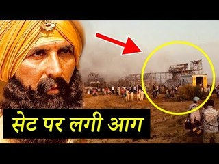 Akshay Kumar SAVED From FIRE During Kesari Shoot - Breaking News