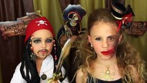 Pirates of the Caribbean 5: Dead Men Tell No Tales Jack Sparrow and Half Glam Pirate