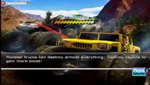 Monster Trucks Mayhem - Nintendo Wii Truck Race Games - Videos Games for Kids - Girls