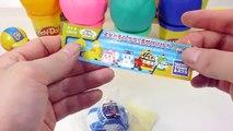 Surprise Eggs Play Doh Disney Cars Frozen Toy 서프라이즈 에그 플레이도우 점토 뽑기 뽀로로 폴리 타요 또봇 장난감 Робокар Поли
