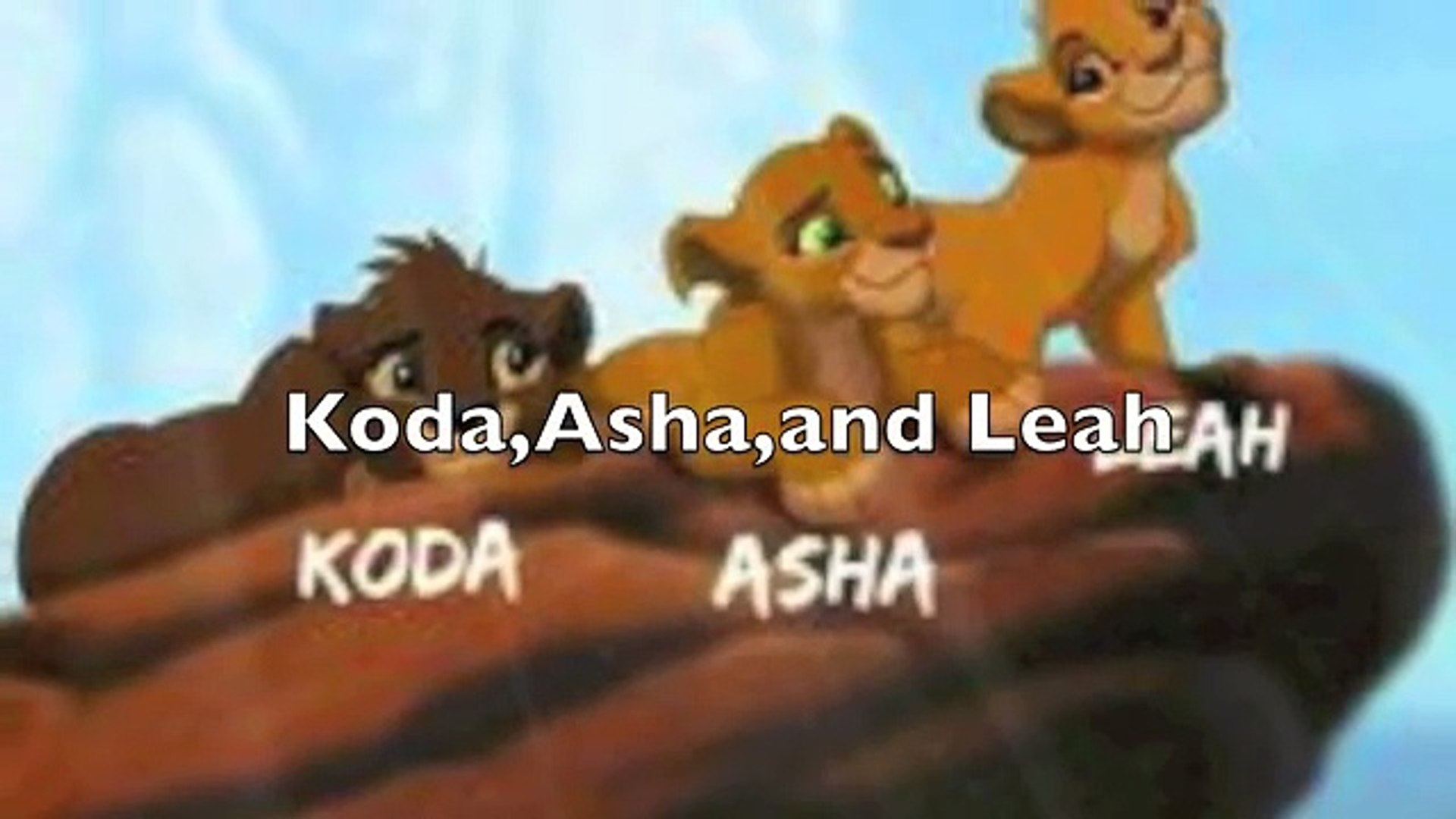 Lion King Family Tree Part 2 Video Dailymotion