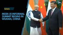 Modi-Xi informal summit begins in Wuhan, China
