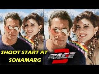 RACE 3 SONG - Salman (Sikandar) & Jacqueline (Jessica) - Sonamarg Shoot