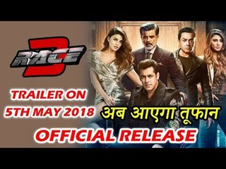 Salman's Race 3 Trailer Will Be Out Soon - Details Here