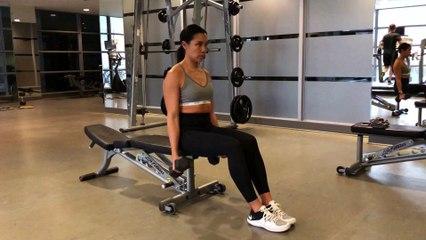 Jennifer Lau Arms Workout Zottman Curl