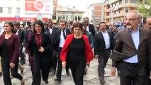HDP Eş Genel Başkanı Buldan: 'Sizinle saz çalan adayımız olacak' - AĞRI
