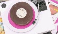 Un sublime gâteau en forme de vinyl ! (Meilleur Pâtissier) - ZAPPING CUISINE BEST OF DU 01/05/2018
