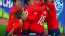 chile al mundial Chile vs argentina 4-0 Futbol femenino resumen goles (copa america femenina)
