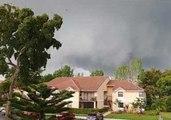 Tornado Sweeps Through Coral Springs, Florida, Accompanied by Intense Rain
