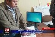 Ayacucho: intervienen a alcalde de Vilcashuamán cuando recibía presunta coima