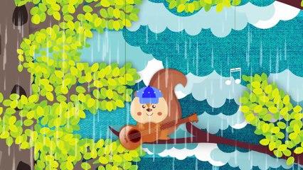 Rain Rain Go Away | Kindergarten Nursery Rhymes & Baby Songs | KipaSongs & gol
