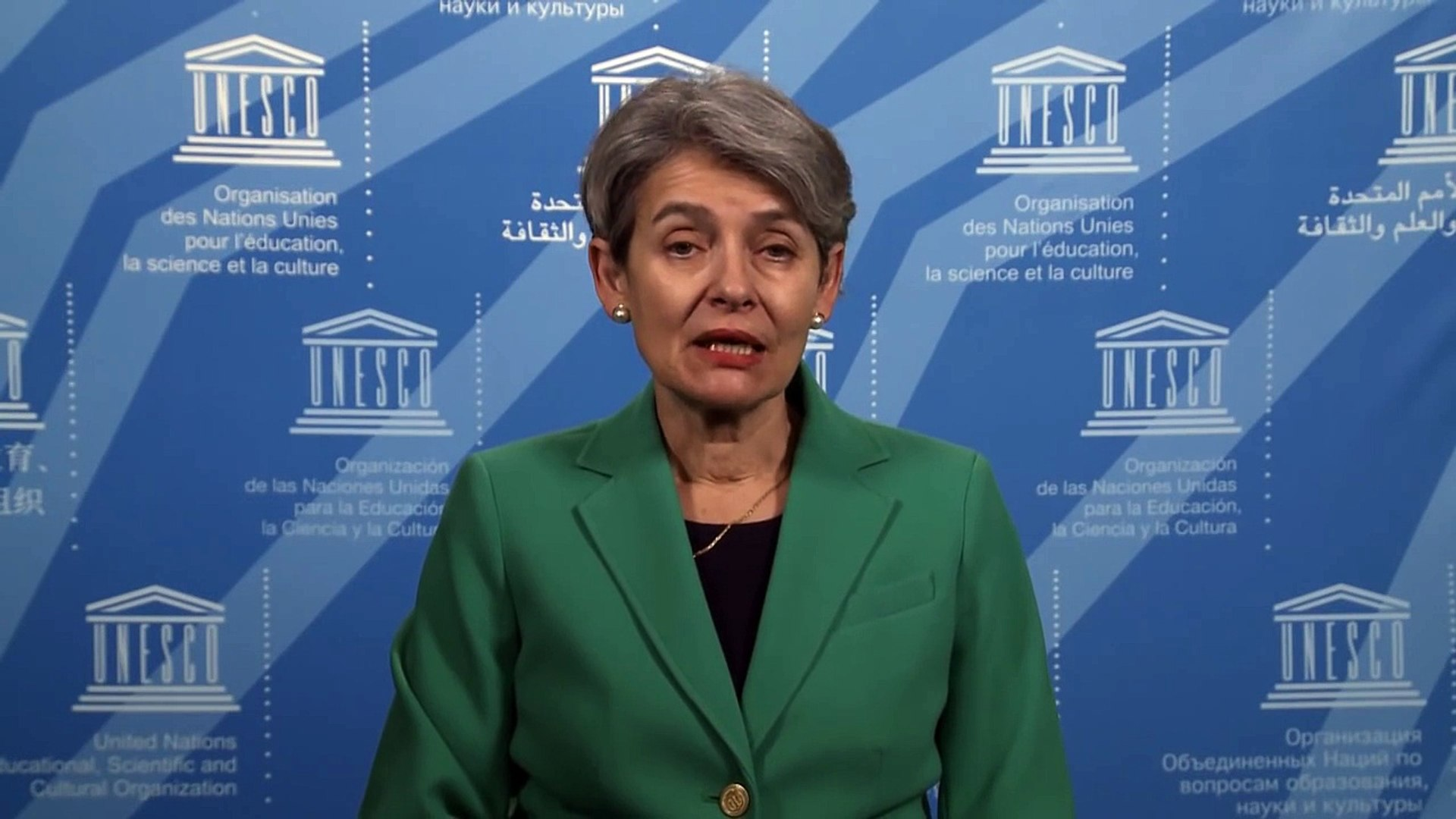 Irina Bokova's message on the Decade for People of African Descent
