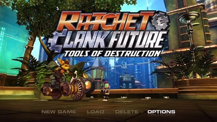 Ratchet and Clank Future: Tools of Destruction (Part 1) (Gameplay/Commentary)