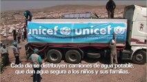 En el Kurdistán irakí, UNICEF sigue llevando ayuda a los niños sirios refugiados