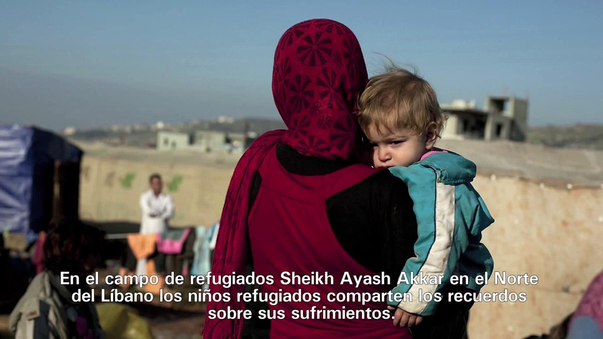 Testimonios de algunos niños sirios refugiados en Líbano