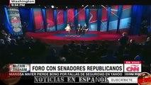 ultimas noticias de EEUU FORO REPUBLICANO, JOHN McCAIN VS LINDSEY GRAHAM (español) 02/03/2017