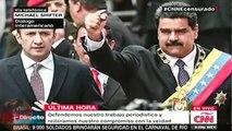 Ultimas noticias de VENEZUELA, NICOLAS MADURO CENSURA CANAL DE NOTICIAS CNN Y LO SACA DEL AIRE