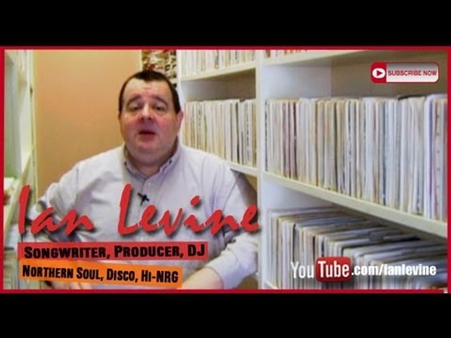 Ian Levine's Personal Introduction To His You-Tube Channel