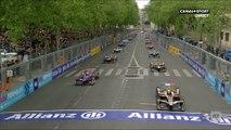 Départ du E-Prix de Paris