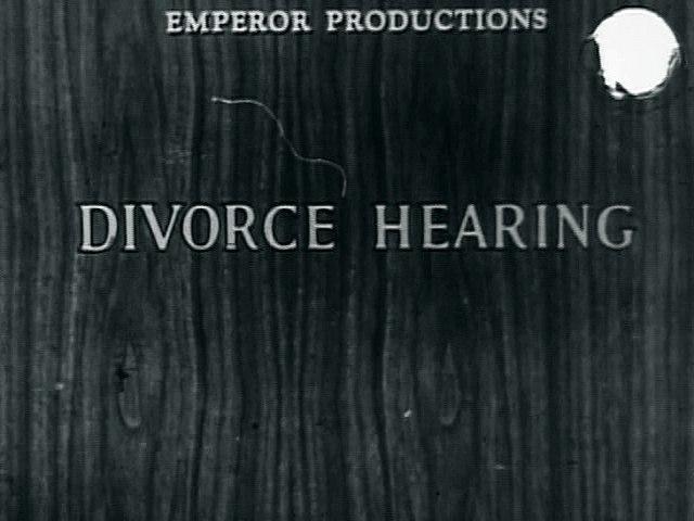 Divorce Hearing #2
