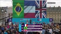 Formule E - e-Prix de Paris : Le podium et la Marseillaise pour J-E Vergne
