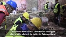 Grèce: le chantier du métro fait surgir l'ancienne Thessalonique