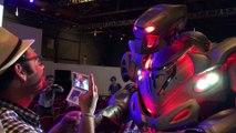 Titan le robot au festival de science-fiction de Martigues