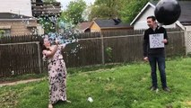 """Epic Twin Gender Reveal!How did you """"reveal"""" your babies' genders?More gender reveal fun:"""
