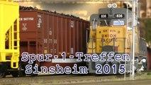 Modellbahn Spur 1 Treffen Sinsheim 2015 - Ein Video von Pennula zum Thema Eisenbahn-Schauanlagen und Modellbau sowie Modelleisenbahnen