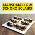 Eclairs sind kleine französische Leckereien die mit einer Schoko-Creme gefüllt werden. Probiert diese leckeren Marshmallow-Schoko-Eclairs! ZUM REZEPT