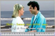 Grease Olivia Newton John and John Travolta - Karaoke Songs online