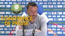 Conférence de presse FBBP 01 - Stade Brestois 29 (2-4) : Hervé DELLA MAGGIORE (BBP) - Jean-Marc FURLAN (BREST) - 2017/2018