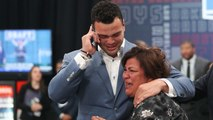 Emotional moments from Day 1 of the 2018 NFL Draft