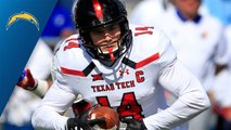 Chargers select Dylan Cantrell No. 191 in the 2018 NFL Draft