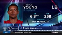 Rams select Trevon Young No. 205 in the 2018 NFL Draft