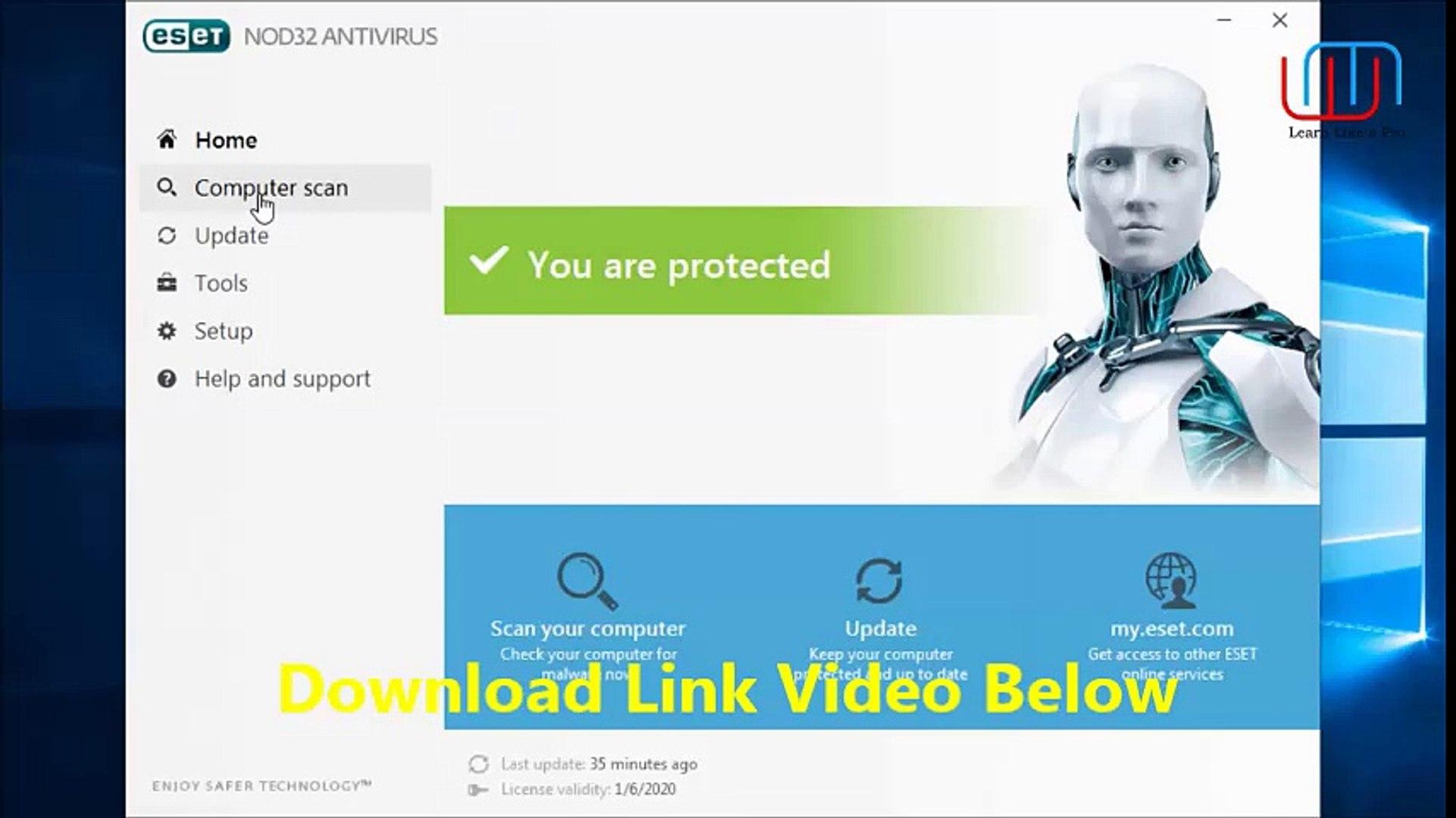 ESET NOD32 Antivirus 11 1 54 0 Crack Lifetime