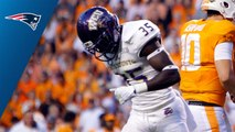 Patriots select Keion Crossen No. 243 in the 2018 NFL Draft