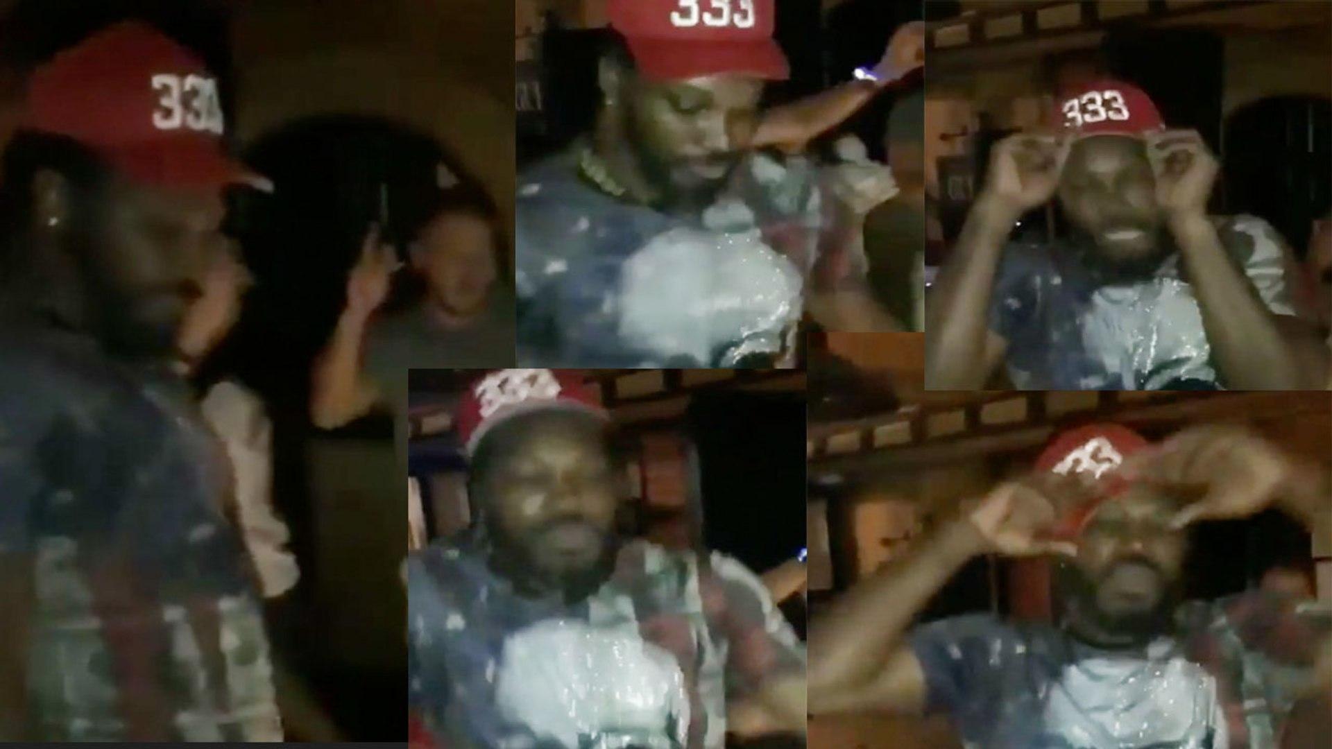 IPL 2018: Chris Gayle dance on Tare Gin Gin goes viral on social media   वनइंडिया हिंदी