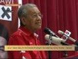 #MalaysiaMemilih: DCA tidak boleh pastikan pesawat itu disabotaj atau tidak - Tun M