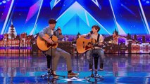 Jack and Tim receive GOLDEN BUZZER from Simon Cowell! | Auditions | BGT 2018