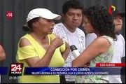 Los Olivos: mujer asesina a su hija y luego intenta suicidarse