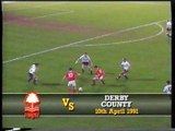 Nottingham Forest - Derby County 10-04-1991 Division One