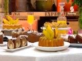 Tarte aux poires à la vanille  + Tarte aux poires au chocolat